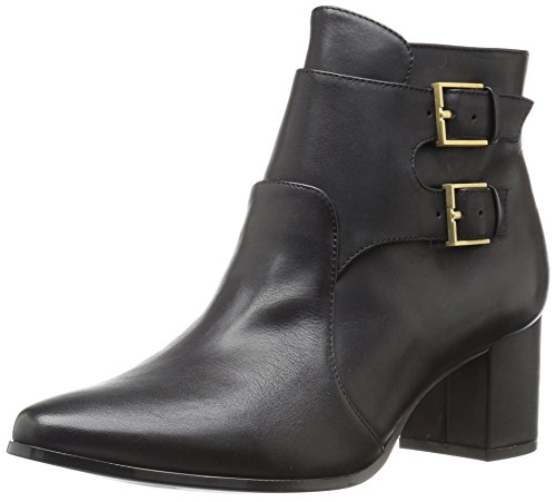 Klein Florine Boot Black Leather Women's Calvin TqgwEAdT