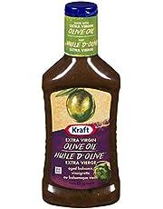 Kraft Aged Balsamic Vinaigrette with Extra Virgin Olive Oil, 475mL (Pack of 10)