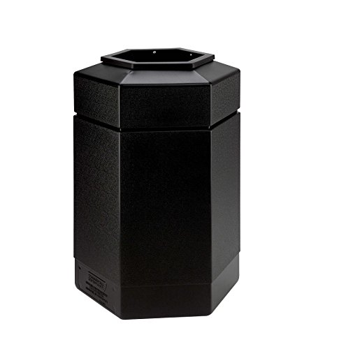 Commercial Zone Waste Receptacle, 30 Gallon, -