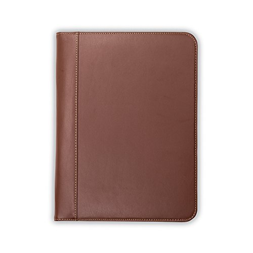 samsill contrast stitch leather padfolio  u2013 portfolio