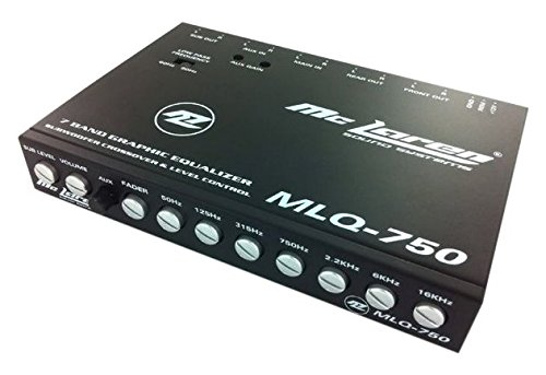 (McLaren Audio MLQ750 7-Band Parametric Equalizer)