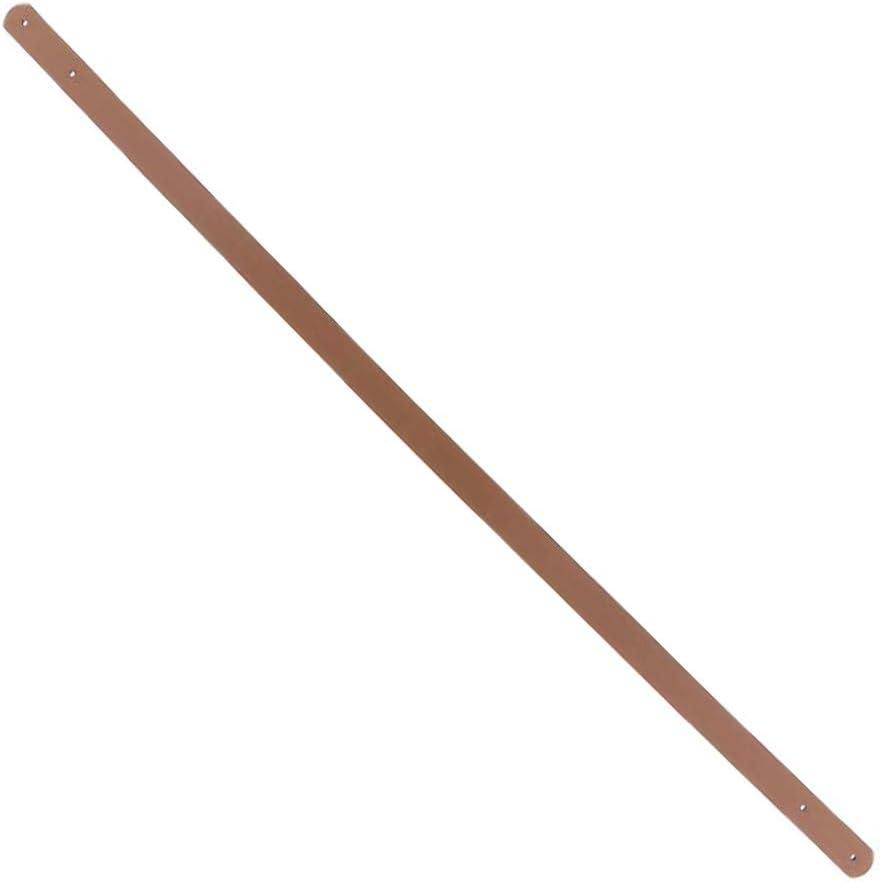 POFET 2 unidades Correa de piel sint/ética de 60 cm para bolsos y bolsos color marr/ón