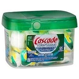 Cascade Complete ActionPac Lemon Burst Scent Dishwasher Detergent - 44 Count
