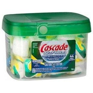 Cascade Complete ActionPac Lemon Burst Scent Dishwasher Dete