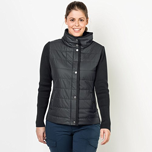 Xs All Over Mujer Talla Chaqueta 2017 Negro Clarington Jack Wolfskin Black SpRYw