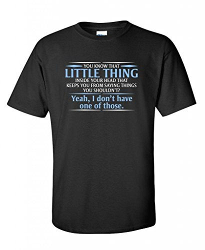 You know the little thing inside your head Guys Gift Funny T Shirt 2XL - Big Guy With Head