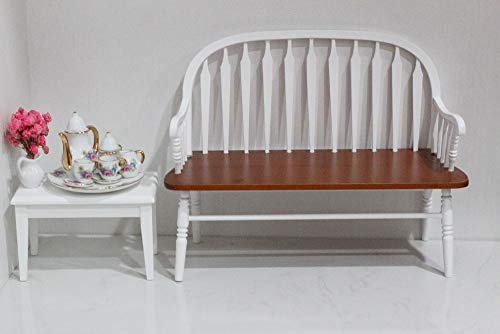 - Kiartten 1:6 Scale Furniture - Scale Bjd Windsor Chair Doll Miniature 18Th Wooden Furniture Hmade Chair 12 Inchs Mini Dolls Decoration 1 Pcs - Miniature Wooden Apples