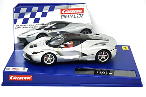 (Carrera Digital 132 30748 LaFerrari Aluminum (Matte Silver) Finish )