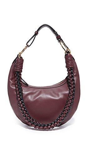 Diane von Furstenberg Women's Mini Sling Shoulder Bag, Bordeaux, One Size