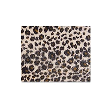 5dc8f856b5 Amazon.com  Wall Art Painting Leopard Fur Texture Prints On Canvas ...