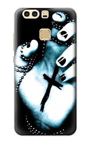 Innovedesire Dark Gothic Cross Hand Funda Carcasa Case para ...