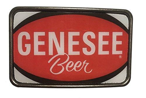 Outer Rebel Genesee Beer Can Metal Belt Buckle