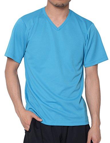 ボードインフレーションクローンティーシャツドットエスティー Tシャツ ドライ 半袖 無地 Vネック UVカット4.4oz メンズ