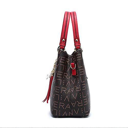 Red Donna Hobos Borse Tracolla A Messenger Moda Borse Da Vintage Tracolla Borse Borse A Mano A TZ1B75wwq