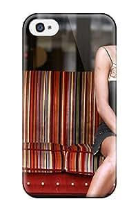 6656554K71661488 Premium Emma De Caunes Back Cover Snap On Case For Iphone 4/4s WANGJING JINDA