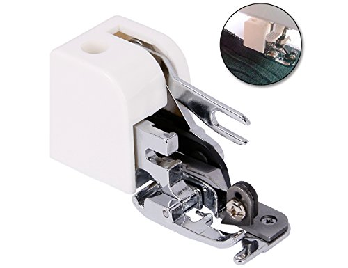 Side Cutter Overlock Presser Foot, Ankoow Zig Zag Feet Sewing Machine Attachment for Brother Singer Babylock Janome Kenmore by Ankoow