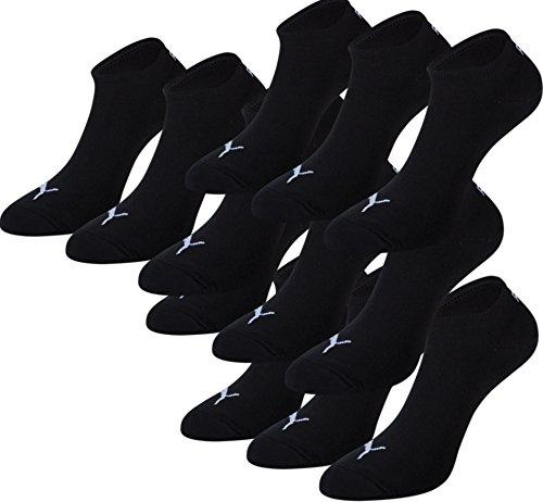 PUMA Unisex Sneakers Socken Sportsocken 12er Pack black 200 - 39/42
