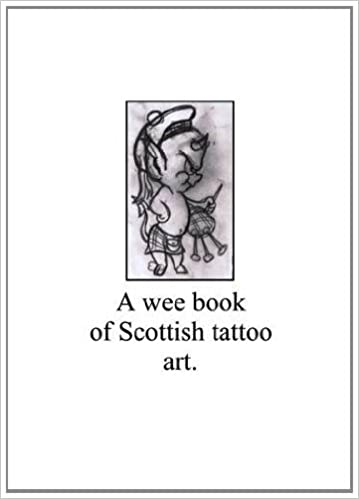 A Wee Book Of Scottish Tattoo Art Ian Mcalister 9780957202603