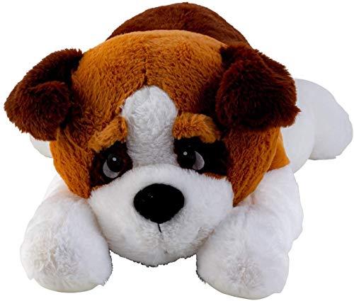 Lifestyle & More Peluche Gigante para Perros XXL 80 cm de Largo Peluche para Perros Aterciopelado Suave - para amar