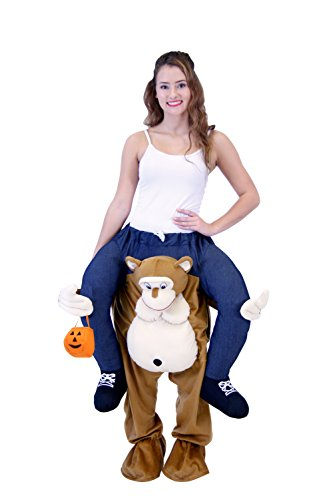 Piggyback Ride On Monkey Teen Costume (Teen) ()