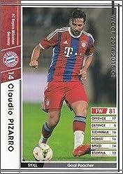 WCCF 14-15OE / Ver3.0 / A28 / FC Bayern Munich / Claudio
