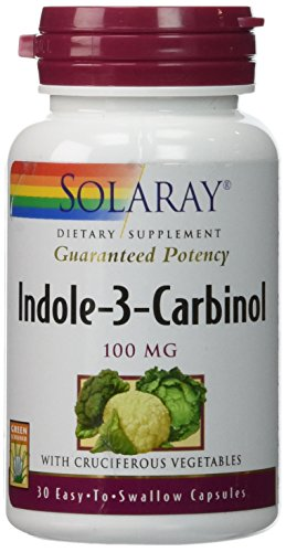 Solaray - Indole-3-Carbinol, 100 mg, 30 capsules