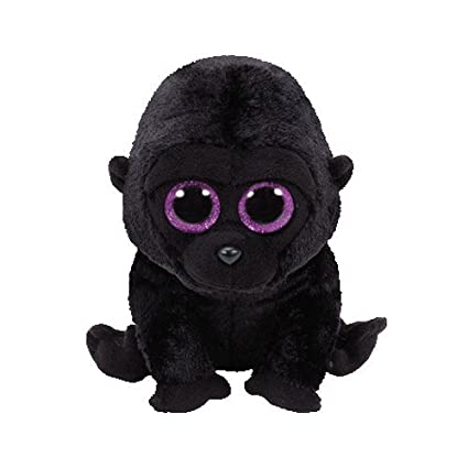 016755af4fa Amazon.com  Ty Beanie Boos Plush - George The Gorilla  Toys   Games