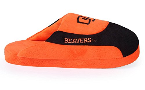 Osu07-4 - Oregon State Bäver - X Large - Happy Feet Mens Och Womens - Ncaa Låga Pro Tofflor