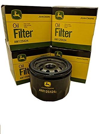 John Deere Original Equipment Oil Filter AM125424 Qty 4