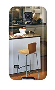 Top Quality Case Cover For Galaxy S5 Case With Nice Contemporary Kitchen Island With Breakfast Bar Appearance