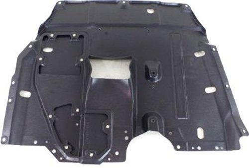 CPP Rear Engine Splash Shield Guard for 08-17 Mitsubishi Lancer w/ Turbo MI1228137 (Best Turbo For Evo X)