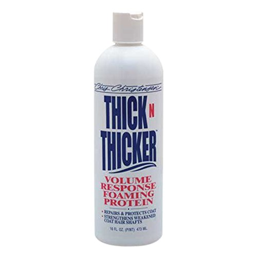 Chris Christensen Thick N Thicker Response Foaming Protein Conditioner, 16 oz -