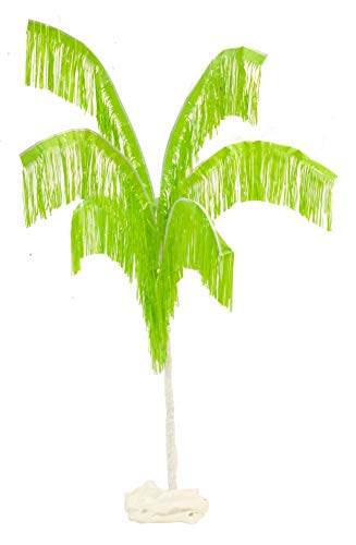 TCDesignerProducts Lime Green Palm Tree Pride Parade Float Kit, 7 Feet Wide x 11 Feet High, Assembly Required