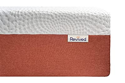 Revived Mattress- Sleep Better, Live Better, Revived365's Gel, Latex, Memory Foam Layered Mattress With Quilted Cover To Sleep Cooler And Produce A Great Night's Sleep