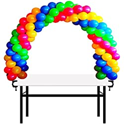 12ft Table Balloon Arch Kit Decoration for Baby Shower, Birthday, Wedding, Christmas, and Graduation Party Event