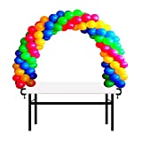 KOMIWOO 12ft Table Balloon Arch Kit Decoration for Baby Shower, Birthday, Wedding, Christmas, and Graduation Party Event