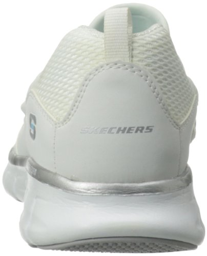 buy cheap authentic cheap sale clearance Skechers Sport Women's Loving Life Memory Foam Fashion Sneaker White/Silver fake online o1Scm