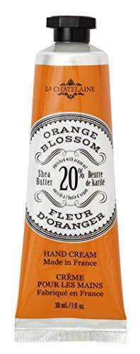 (La Chatelaine 20% Shea Butter French Hand Cream, Orange Blossom Travel Size 1oz)
