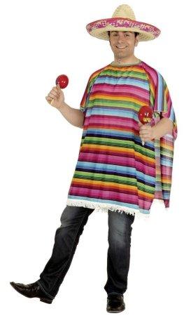 Mantello poncho messicano taglia XL ATTENZIONE SOLO PONCHO  Amazon ... 67d23fa3214b