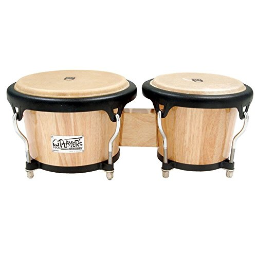 Toca Player's Series Large Wood Bongos - Natural Finish by Toca