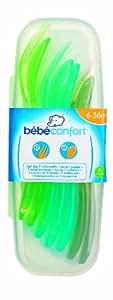 Bebeconfort 31000162 - Estuche de 7 cubiertos infantiles