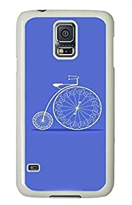 Cycling PC White Hard Case Cover Skin For Samsung Galaxy S5 I9600 hjbrhga1544