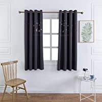 MANGATA CASA Baby Nursery Blackout Curtains Cutout Design...