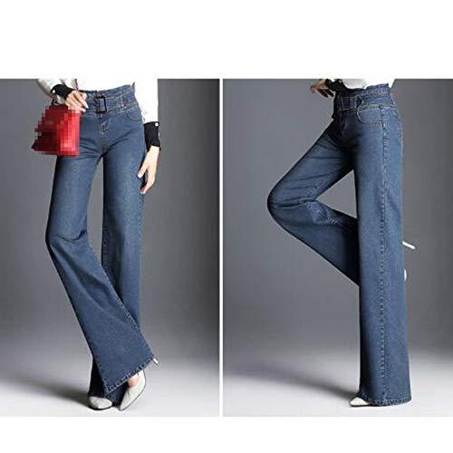 Denim Dlav Haute Femmes Pantalons Pantalons Stretch Jeans Skinny De Jeans Blue2 Long Taille xqdZXXI5