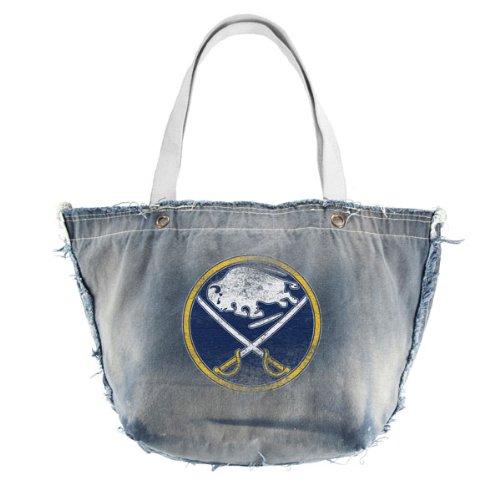 NHL Buffalo Sabres vintage Tote, Denim Little Earth 550303-SBRS-DENM