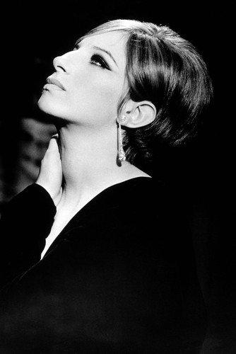 Funny Girl Barbra Streisand Profile Great 24x36 Poster (Streisand Barbra Poster)