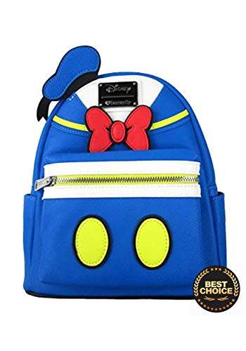 abbd0034e7f Loungefly Donald Duck Faux Leather Mini Backpack Standard - Import ...