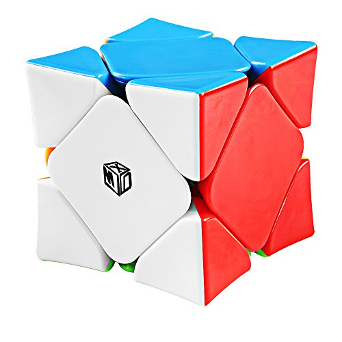(Coogam Qiyi X-Man Wingy Concave Magnetic Skewb Cube Stickerless Speed Cube Shapes Puzzle Toy)
