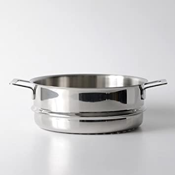 A Di Alessi,AJM307 POTS PANS , Steamer basket in 18 10 stainless steel mirror polished,9.5 Inch