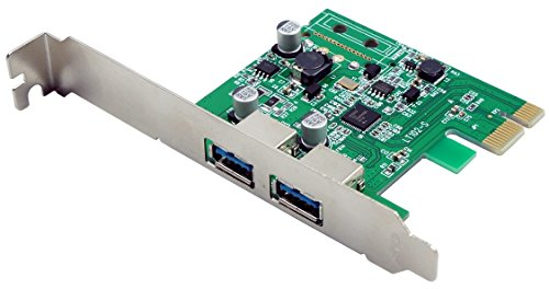 VisionTek Products Two Port USB 3.0 x 1 PCIe Internal Card for PCs and Servers – 900869 For Sale